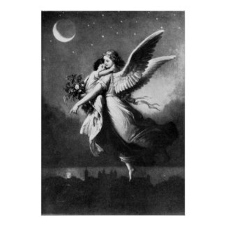 Vintage - Angel of Peace Poster
