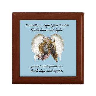 Vintage Angel With Prayer Gift Box