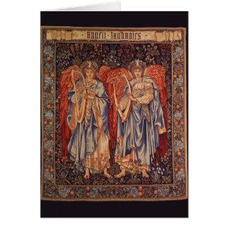 Vintage Angels, Angeli Laudantes by Burne Jones Card