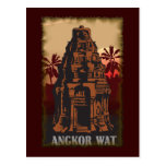 Vintage Angkor Wat Postcard