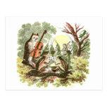 Vintage Animal Band Post Cards