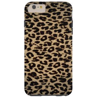 Vintage animal texture of leopard tough iPhone 6 plus case