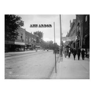 Vintage Ann Arbor Postcard