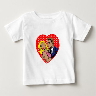 vintage anti valentine baby T-Shirt