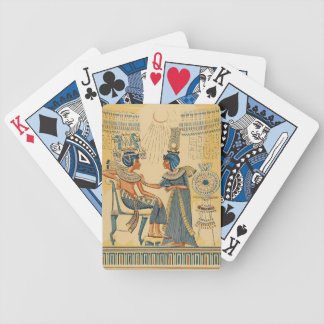 Vintage Antique Ancient Egyptian Royalty Bicycle Playing Cards