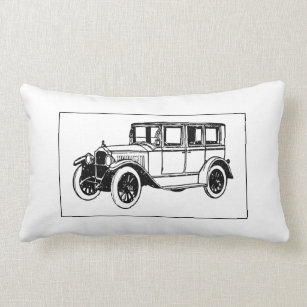 Old Car Pillows Cushions Zazzle Ca
