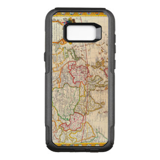 Vintage Antique French Map Europe to Asia OtterBox Commuter Samsung Galaxy S8+ Case