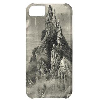 Vintage Antique Ireland Bent Cliff Coast Case For iPhone 5C