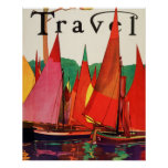 Vintage Antique Italy Travel Magazine Fishing
