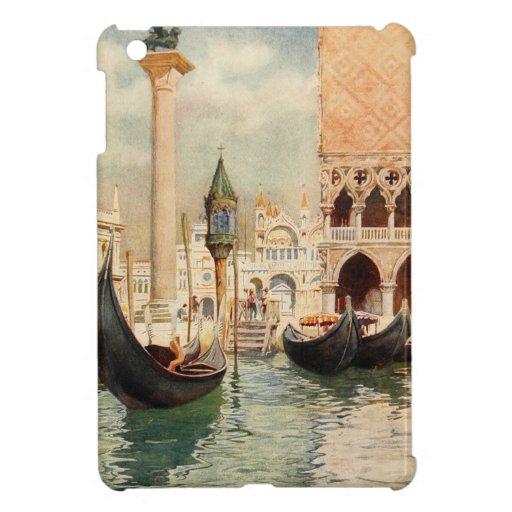 Vintage Antique Italy Venice Gondola Shrine iPad Mini Cases