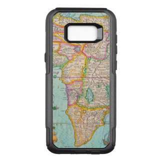 Vintage Antique Map of Africa OtterBox Commuter Samsung Galaxy S8+ Case