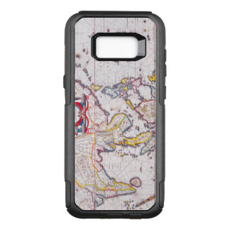 Vintage Antique Map of India Circa 1650 OtterBox Commuter Samsung Galaxy S8+ Case