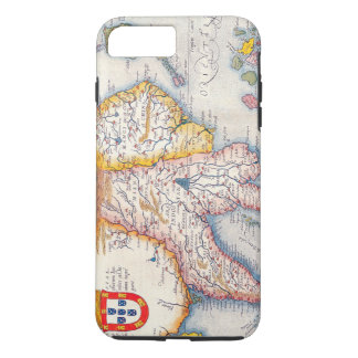 Vintage Antique Map of Southeast Asia Circa 1590 iPhone 7 Plus Case
