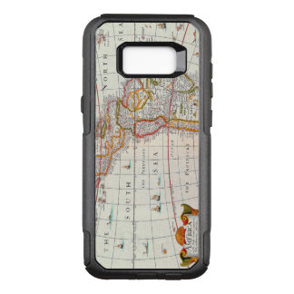 Vintage Antique Map of the Americas Circa 1626 OtterBox Commuter Samsung Galaxy S8+ Case