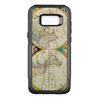 Vintage Antique Map of the World Circa 1755 OtterBox Commuter Samsung Galaxy S8+ Case