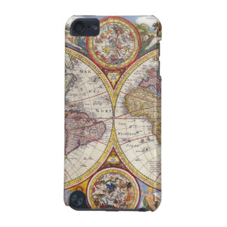 Vintage Antique Old World Map cartography iPod Touch 5G Cases