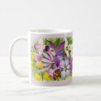 Vintage/Antique Orchids Coffee or Tea Mug