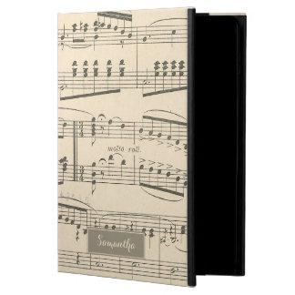 Vintage Antique Sheet Music iPad Air Case