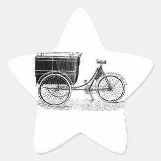 Vintage Antique Tricycle Sticker