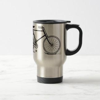 Vintage Antique Tricycle Travel Mug