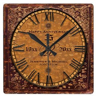 Vintage Antique Wedding Anniversary Wall Clock