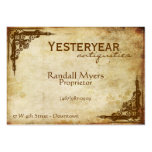 Vintage Antiques Victorian Business Card Template