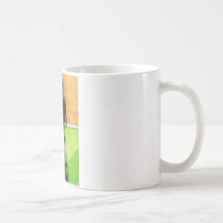 Vintage Apartment Balconies Coffee Mug