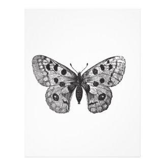Vintage Apollo Mountain Butterfly Letterhead