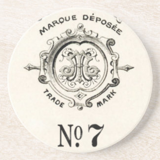 Vintage Apothecary Trade Mark, Number 7 Coaster