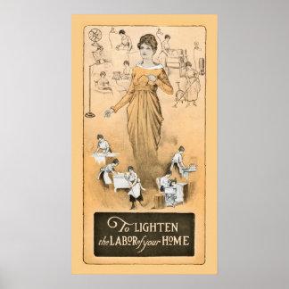 Vintage Appliances Poster