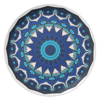 Vintage ARABIC tile Iznik, Turkey, 16th century Plate