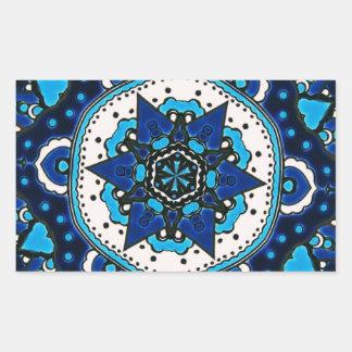 Vintage ARABIC tile Iznik, Turkey, 16th century. Sticker