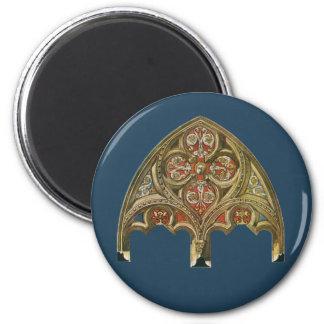 Vintage Architectural Element, Decorative Arches Magnet