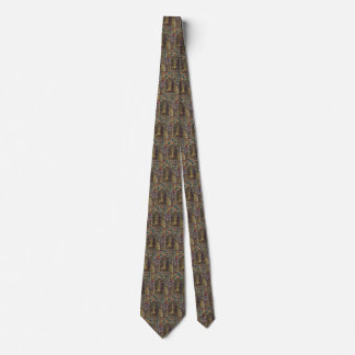 Vintage Architecture, Church Stained Glass Window Tie