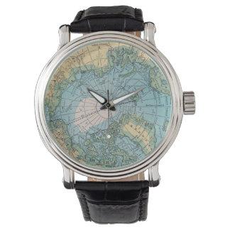 Vintage Arctic Map Watch
