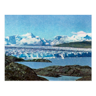 Vintage Argentina, Argentina, End of the glacier, Postcard