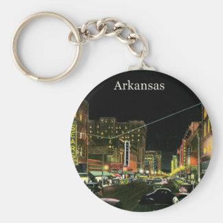 Vintage Arkansas Keychain