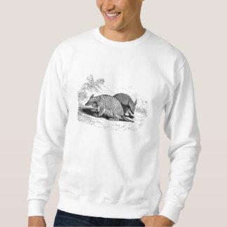 Vintage Armadillo Retro Armadillos Illustration Sweatshirt