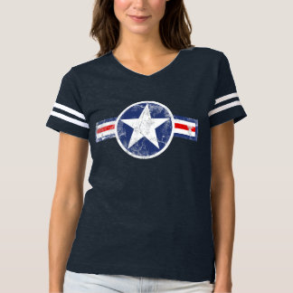 Vintage Army Air Corps Star Patriotic T-shirt