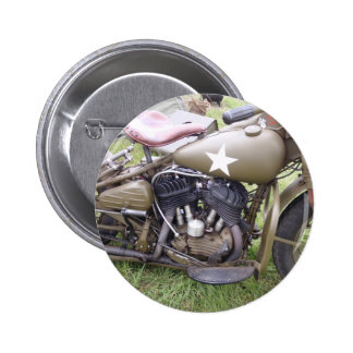 Vintage Army Motorcycle Buttons
