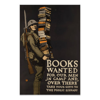 Vintage Army Poster Book Soldier Poster Perfect Poster