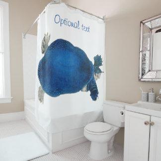 Vintage Art Blue Sea Turtle