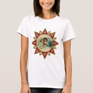 Vintage Art - Christmas Angels T-Shirt