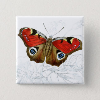 Vintage Art Collection 2 Inch Square Button