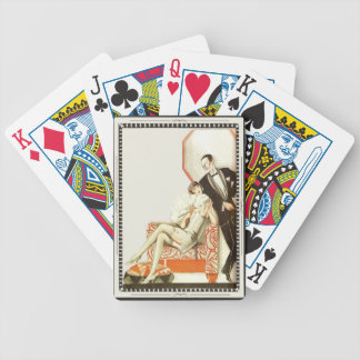 Vintage Art Deco Dressed For the Evening Bicycle Playing Cards