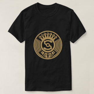 Vintage Art Deco Record Label T-Shirt