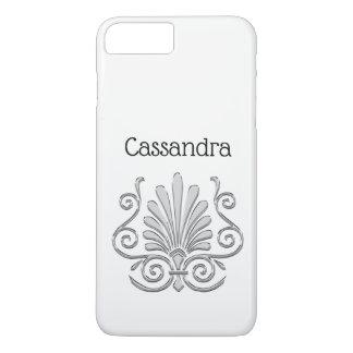 Vintage Art Deco Silver Plume Arabesque iPhone 8 Plus/7 Plus Case