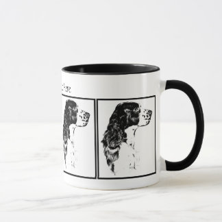 Vintage Art English Springer Spaniel Mug