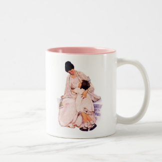 Vintage Art Mother's Day Gift  Mugs with Quote