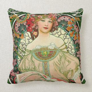 Vintage Art Museum 2015 Throw Pillow